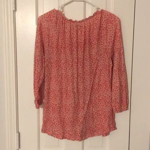 Lucky Brand Tops - 3/4 sleeve lucky 100% cotton top.  Great condition